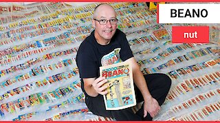 Comic book fan collected 2,000 copies of Beano
