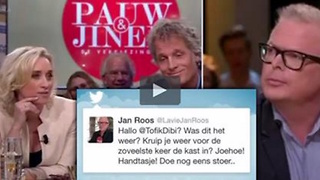 Jan Roos van alle kanten aangevallen - Video