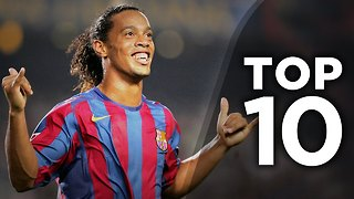 10 Greatest Brazilians To Play In Europe - Video