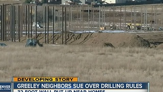 Greeley neighbors sue over drilling rules - Video