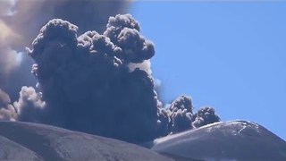 Mount Etna Spews Gas and Ash - Video