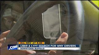 Uber and Lyft search for WNY drivers - Video