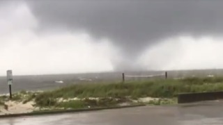 Waterspout Spotted Off Mississippi Coast Ahead of Tropical Storm - Video
