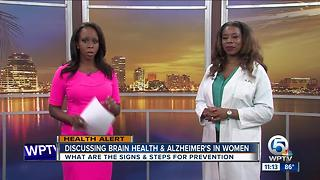 Brain health & Alzheimer's in women - Video