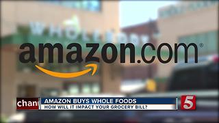 Amazon Buys Whole Foods For $13.7 Billion - Video