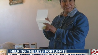 Love for Thanksgiving provides thousands of meals - Video