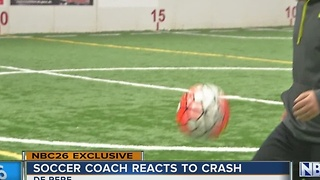 Columbia Plane Crash: Local Soccer Coach Responds - Video
