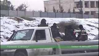 Besieged Aleppo Rebels Leave the City As Evacuations Continue - Video