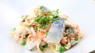 How to make a herring salad - Video
