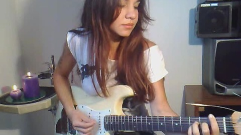 Guitarist Eva Vergilova's flawless Prince cover