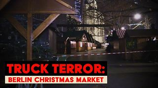 Germany in shock after attack on Christmas market