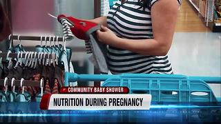 Community Baby Shower: Nutrition for pregnant and nursing moms - Video