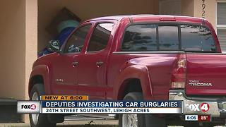 Lehigh Car Break Ins - Video