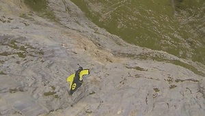 This Wingsuit Jump Will Make Your Palms Sweat! - Video