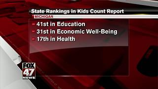 Report: 22 percent of Michigan children in poverty in 2015 - Video