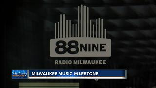 Philanthropist returns for 88Nine Radio Milwaukee's 10 year anniversary - Video
