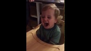 Toddler Overhears Swear Word and Won't Stop Saying It - Video