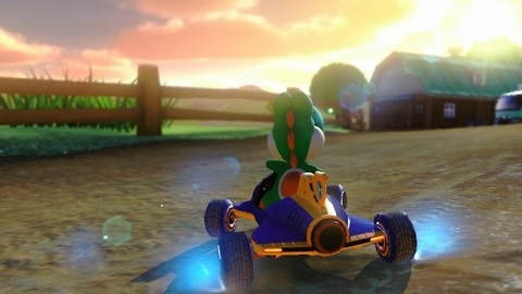 Mario Kart 8 comes with real free gas?