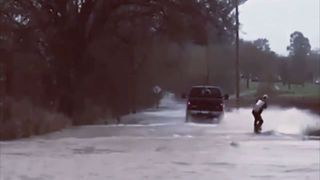 Surfing the Floods in Sonoma - Video