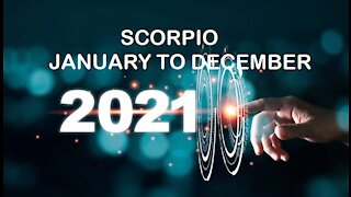 SCORPIO 2021 JANUARY TO DECEMBER-WATCH YOUR FUNDS FROM PRYING EYES!