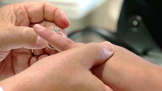 Newlywed gets surprised with new ring