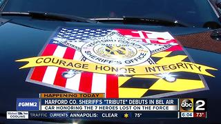 Harford County honoring fallen deputies with mobile tribute