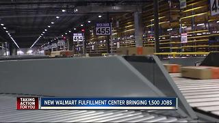 Walmart Fulfillment Center in Davenport expected to bring over 1,000 new jobs to Bay Area - Video