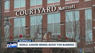 Boost in business already noticed ahead of World Junior Championship - Video