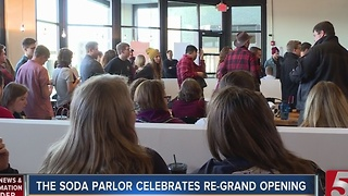 Soda Parlor Re-Opens In East Nashville - Video