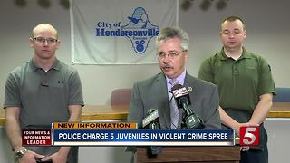 5 Teens In Custody After Overnight Crime Spree - Video