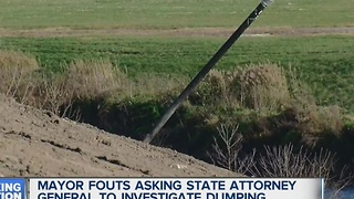 Fouts asks attorney general to investigate illegal dumping - Video