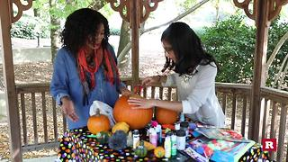A 23-year-old's first attempt at carving a pumpkin   Rare Life - Video