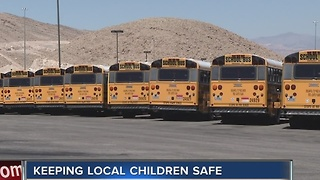Seatbelts not on Clark County School District buses - Video