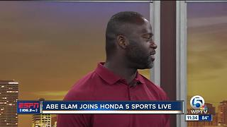 Abe Elam joins Honda Five Sports Live to discuss Team Elam Charity Weekend - Video