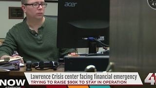 Lawrence crisis center in financial crisis - Video