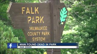 Body found in Oak Creek's Falk Park Pavilion Saturday - Video