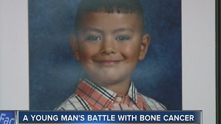 Athletic 14-year-old dies of bone cancer - Video