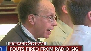 Fouts fired from radio show - Video