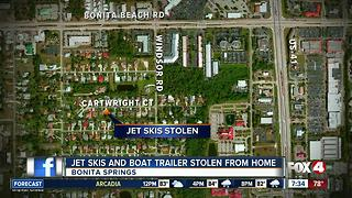 Stolen Jet Skis in Bonita Springs - Video