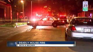 Investigation underway in deadly south side fire - Video