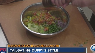 Tailgating Duffy's Style - Video