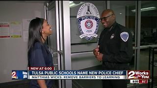 Tulsa Public Schools names new Police Chief - Video