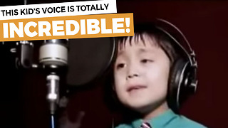 This Young Boy Has The Best Voice You Have Heard In Years - Video