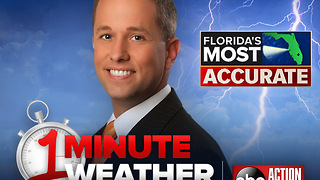 Florida's Most Accurate Forecast with Jason on Monday, January 1, 2018