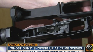 So-called 'ghosts guns' circulating the Valley - Video