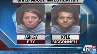 Couple sentenced to jail time in abuse of child - Video