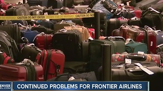 Continued problems for Frontier Airlines - Video