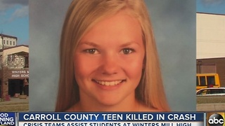 17-year-old girl killed in crash in Carroll County - Video