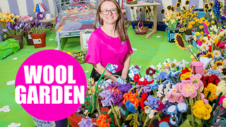 Widow creates world's first garden for the Royal Horticultural Society - Video