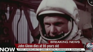 John Glenn dies at 95 years old - Video